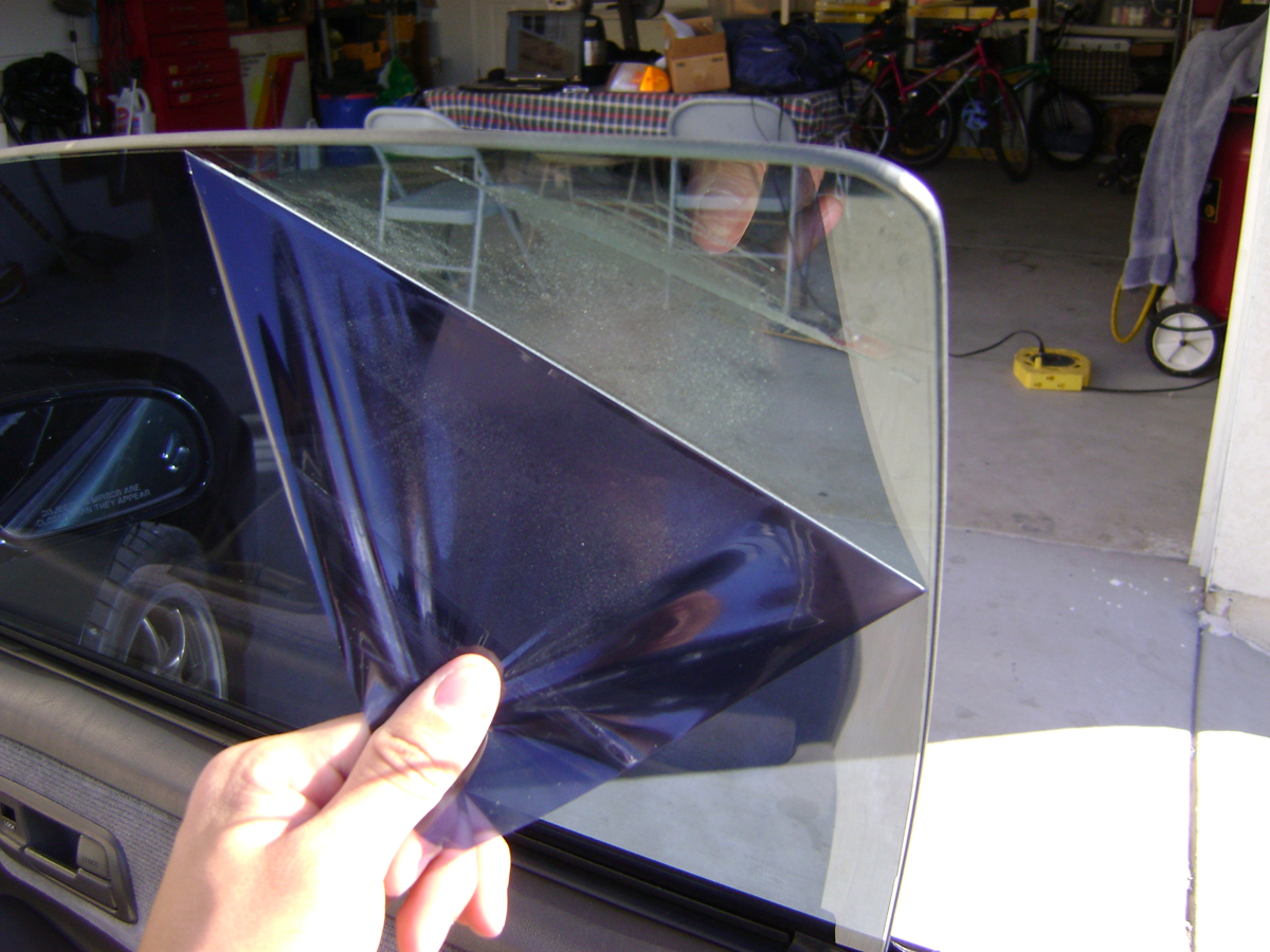 How to Tint Your Car At Home